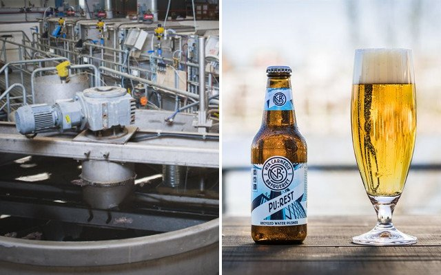 Stockholm brewery launches beer brewed from treated sewage