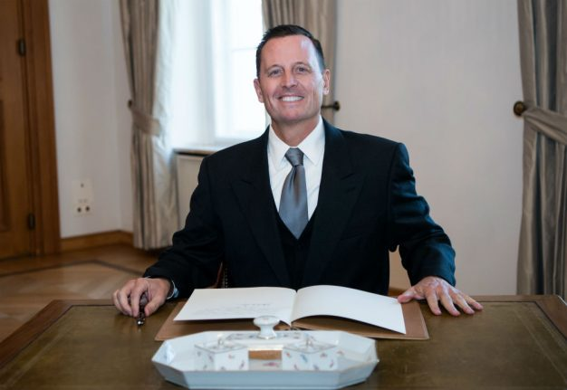 Trump ally Richard Grenell takes over as US envoy to Germany