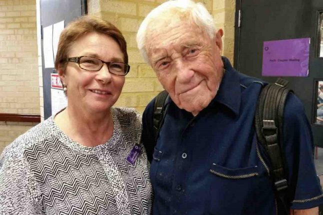 Australian scientist David Goodall arrives in Basel for assisted suicide