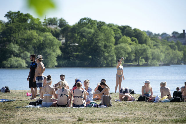 Swedes endure hottest May on record