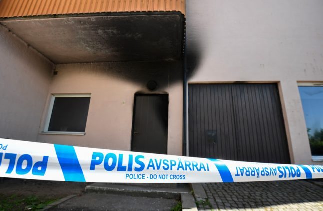 Mosque in southern Sweden target of arson attack
