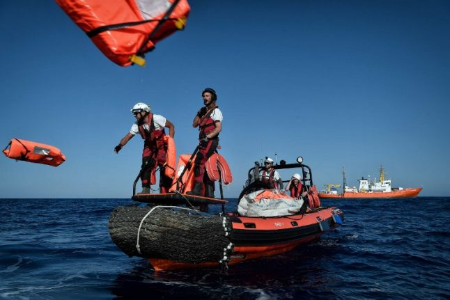 Libyan coastguard stops NGO boat from rescuing migrants after alert from Italy: witness