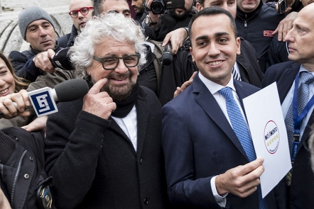 A new direction for Italy's Five Star Movement? Beppe Grillo distances himself from the party he founded