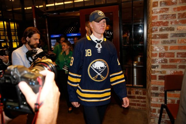 Sweden's Rasmus Dahlin first overall pick in NHL draft
