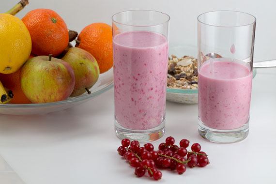 Swedish recipe: quick and healthy redcurrant smoothie
