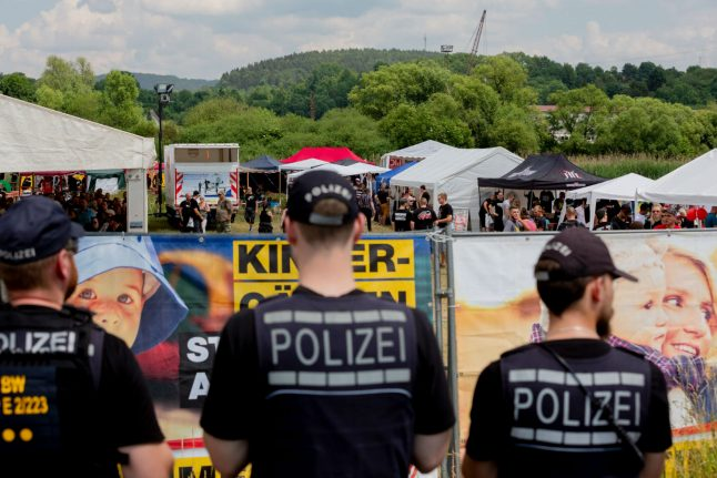 Police deal with 84 suspected crimes at Germany's biggest neo-Nazi festival