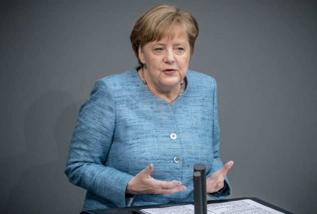 Merkel to take questions from MPs in Bundestag… for first time ever