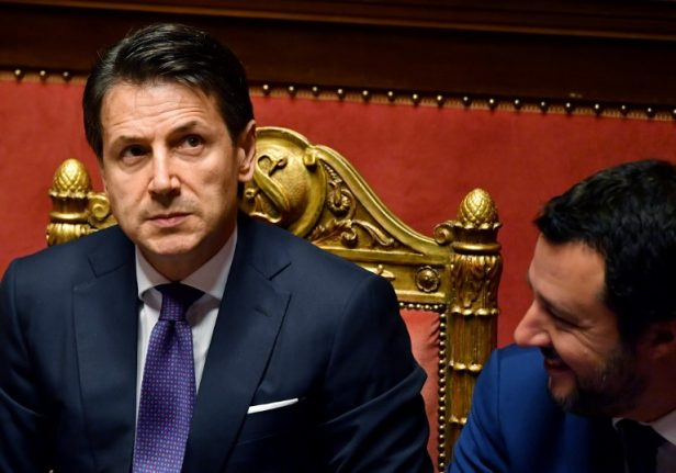 Italy's new prime minister makes his first speech