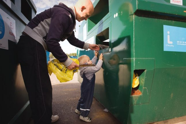 How Sweden makes international students recycling converts