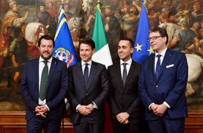 Italy swears in first fully populist government