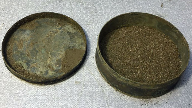 Archeologists find 250-year-old tin of Swedish snus tobacco