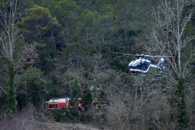 Helicopter crash kills two in central France