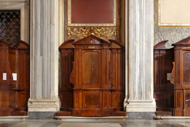 Italian church finds €36,000 stashed in confessional box