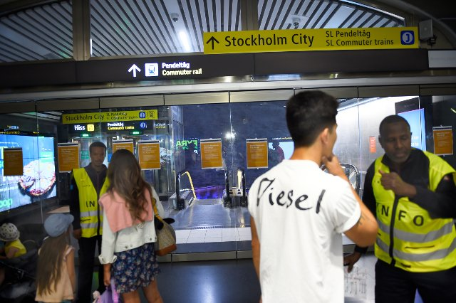 Stockholm commuter train station to reopen after emergency closure