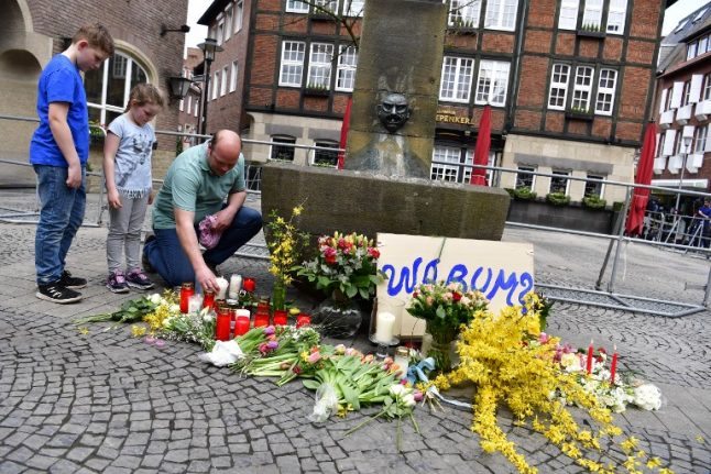 Münster van rampage claims fifth victim four months later