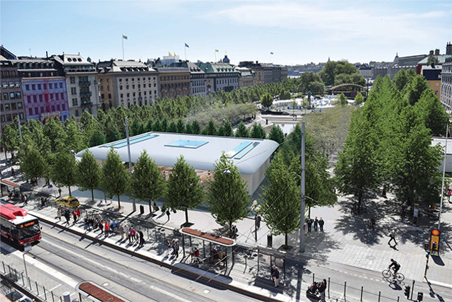 Stockholmers asked to have their say on controversial new Apple store