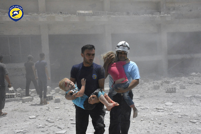Germany will take in 50 Syrian White Helmet rescuers