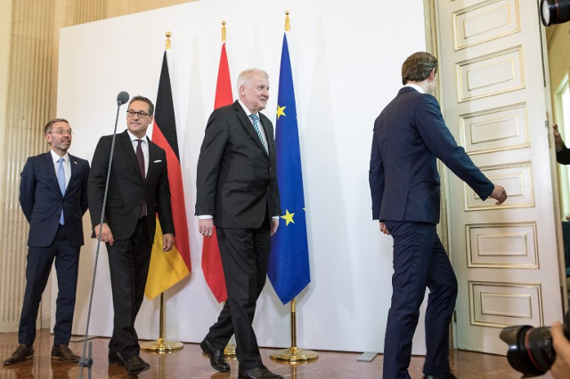 EU ministers meet in Innsbruck as migration tension continues