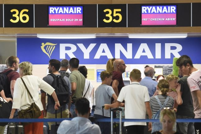 Ryanair strike grounds flights across Europe with Spain most affected