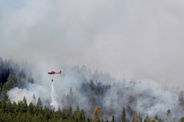 In numbers: The scale of Sweden's wildfires and the efforts to contain them