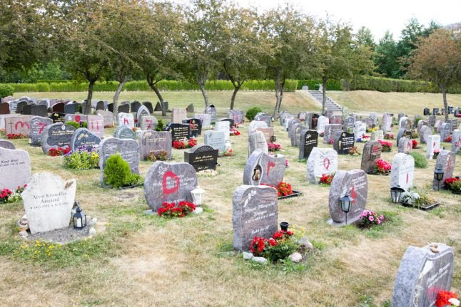 Police search for vandal after 92 gravestones defaced in Norwegian town