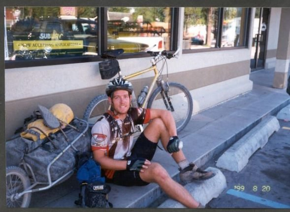 How a two-month bike ride brought this American athlete to Sweden