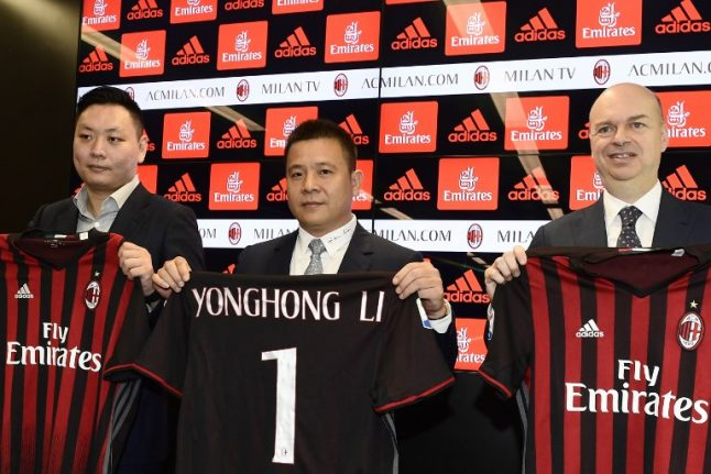 AC Milan go to court to fight UEFA ban
