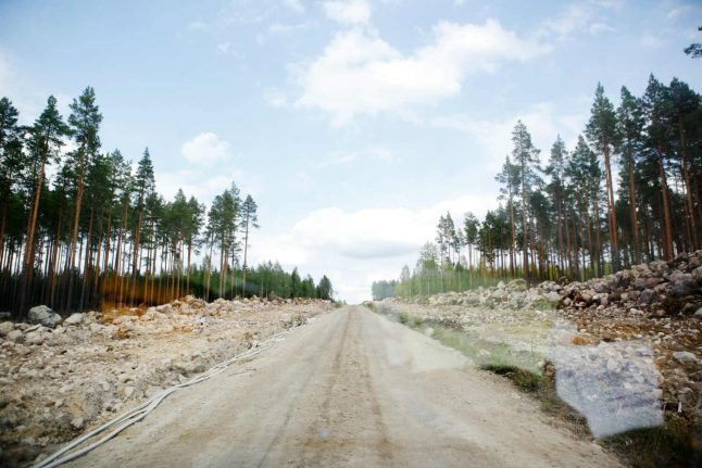 Stable night for Sweden wildfires after rainfall