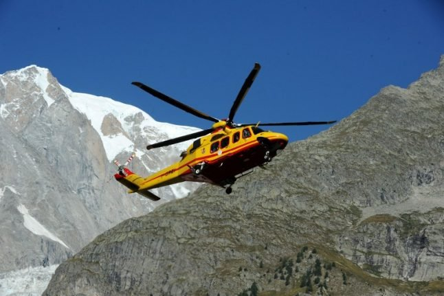 Four climbers killed in accidents in French Alps
