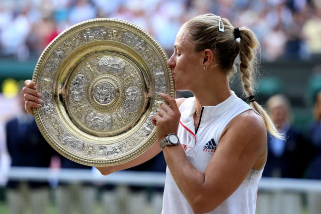 Germans celebrate first Wimbledon victory in over 20 years