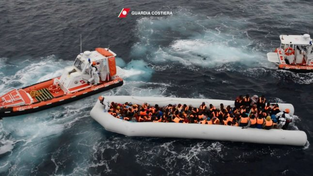 Italy reassures Germany by pledging to accept migrants rescued at sea