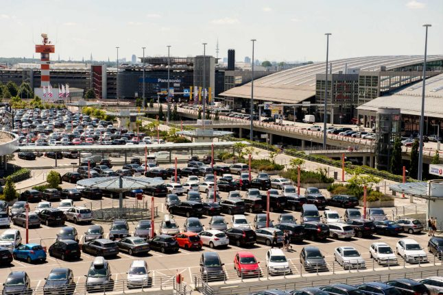 Parking at top German airports costs more than flying: study