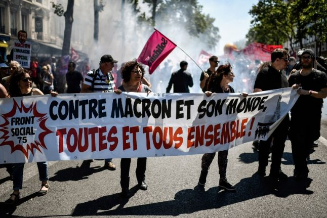 France set for autumn strikes as unions step up protests