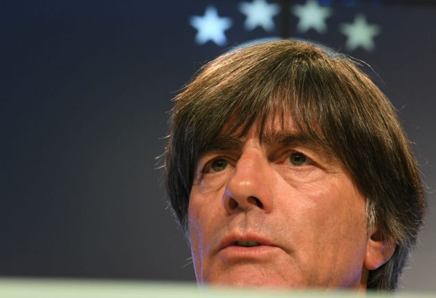 Löw says 'no racism' at German FA as he cuts players for France clash