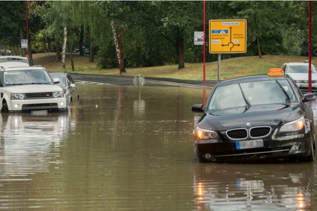 Heatwave breaks as Hesse hit by heavy storms and flooding