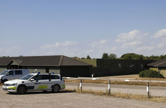Rookie Danish police officer shoots self in leg during training