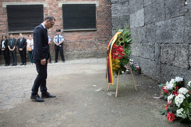'Hell on Earth was a German creation,' says Foreign Minister on visit to Auschwitz