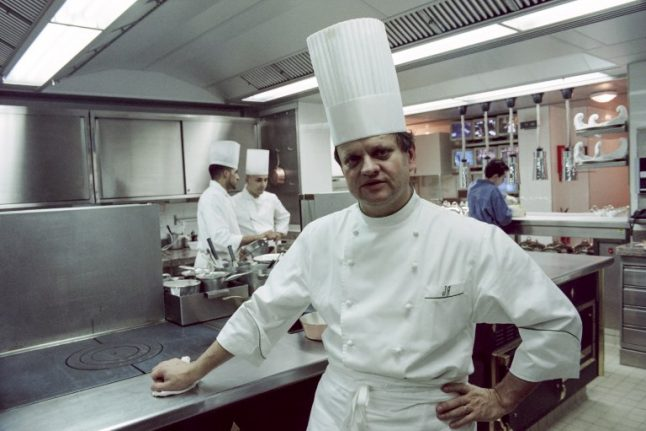 French 'chef of the century' to be honoured at public ceremony