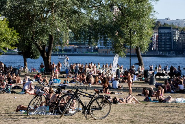 Sweden's summer of 2018 set all of these new records
