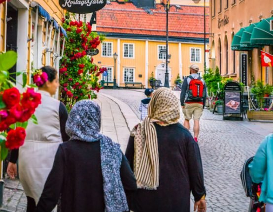 'We are completely dependent on foreigners' in Stockholm