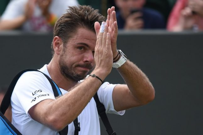 Three-time Swiss Slam winner Wawrinka ousted by qualifier Young