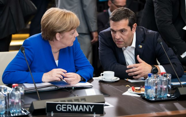 Germany says migrant-return agreement reached with Greece