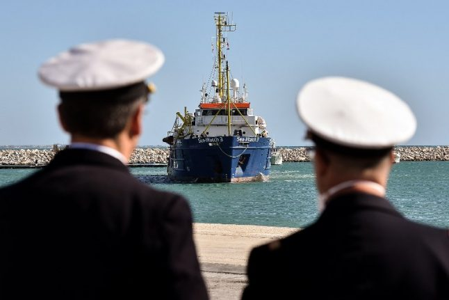 Italy asks EU to land rescued migrants at French and Spanish ports instead