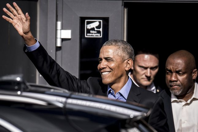 Obama uses Denmark speech to warn against 'racial', 'nationalistic' politics