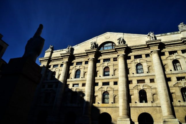 Italy deficit rattles markets in Europe