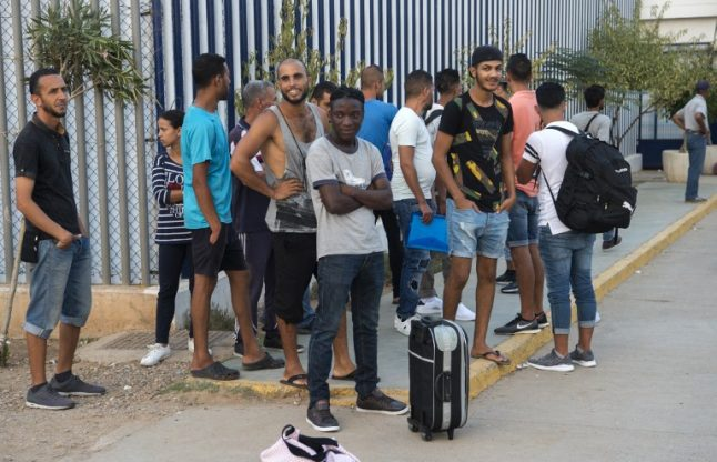 FOCUS: Moroccan migrants risk it all to reach Europe