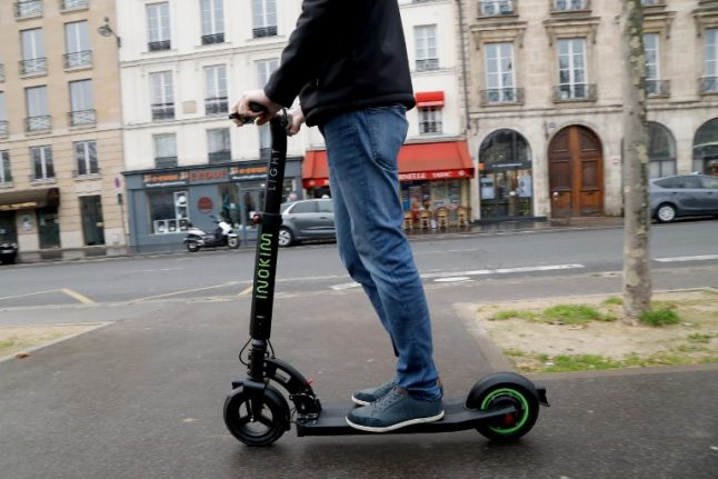 France to ban electric scooters from pavements