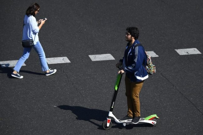 Spanish cities grapple with invasion of electric scooters