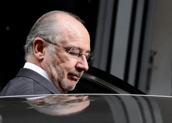 Ex-IMF chief Rato 'seeks forgiveness' as he starts jail term in Spain for graft