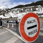 French police admit taking two migrants over the Italian border 'by mistake'